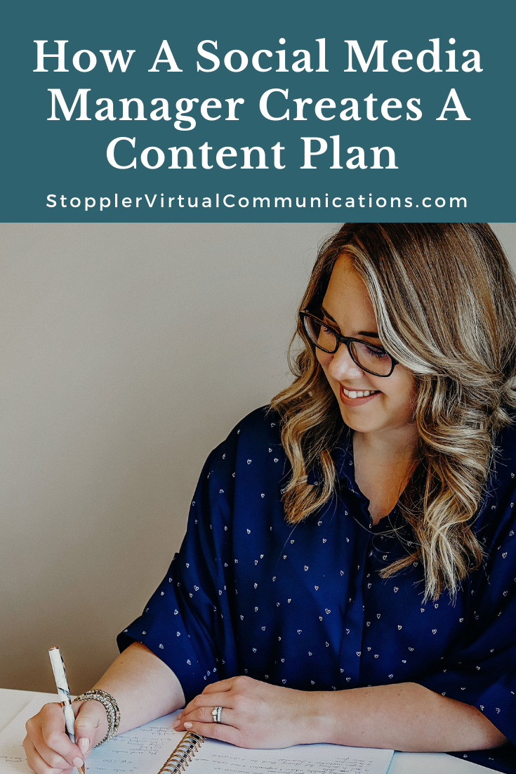 Content Planning With A Social Media Strategist
