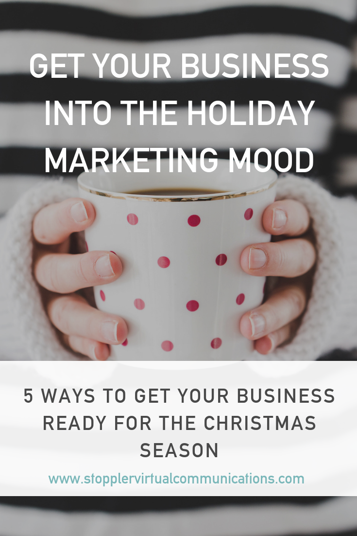 5 Ways to get your business ready for the Christmas season.