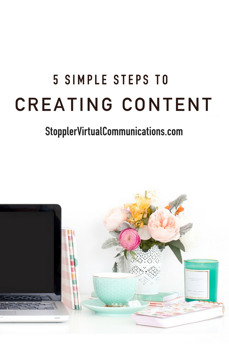 5 Simple Steps to Create Content